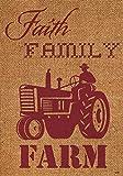 Custom Decor Faith Family Farm