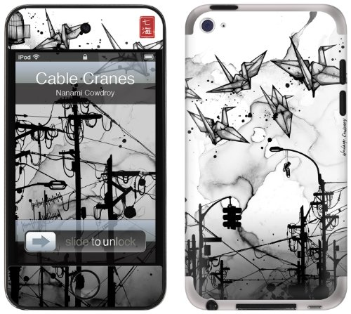 GelaSkins Protective Skin for iPod Touch 4G with Access to Matching Digital