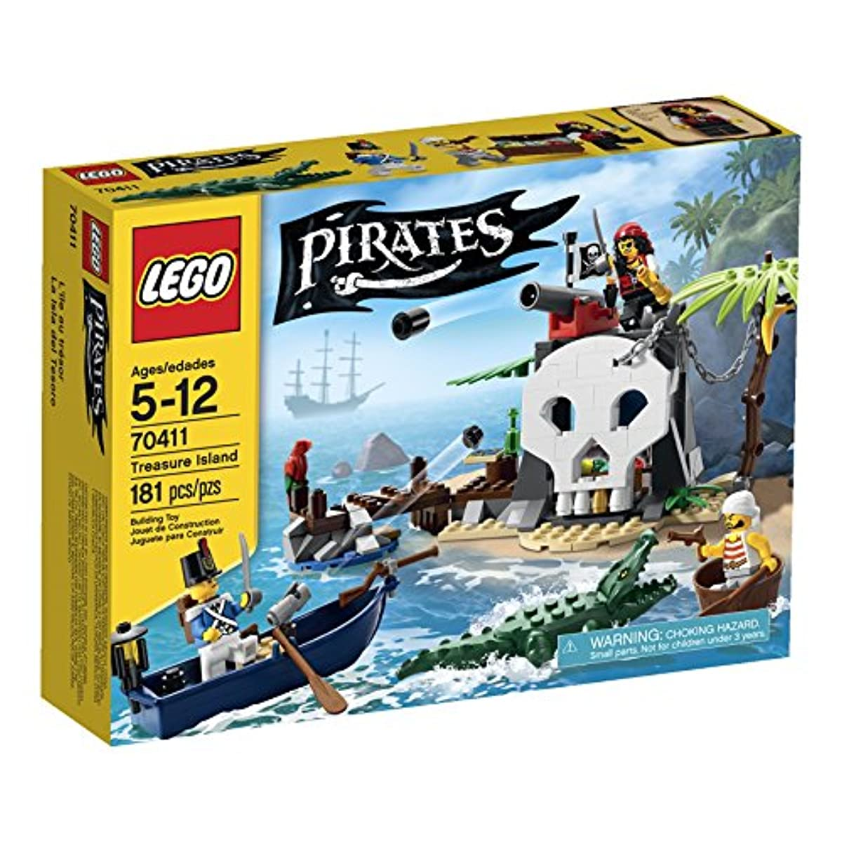 [해외] LEGO PIRATES TREASURE ISLAND