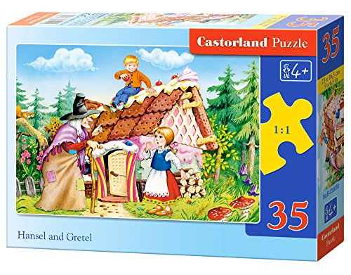 Castorland Hansel and Gretel Midi Jigsaw (35-Piece) - 1