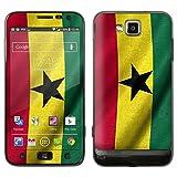 """atFoliX Designfolie """"Ghana Flagge"""" f�r Samsung Ativ S (GT-I8750) - ohne Displayschutzfolievon """"Designfolien@FoliX"""""""