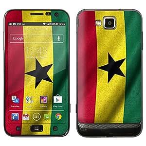 "Samsung Ativ S Designfolie ""Ghana Flagge"" Skin Aufkleber für Ativ S (GT-I8750)"