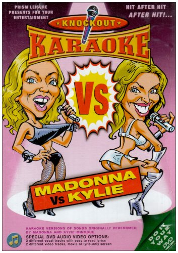 Knockout Karaoke - Madonna Vs Kylie [DVD]