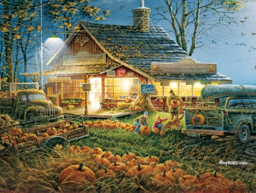 White Mountain Autumn Traditions - 300 Piece Jigsaw Puzzle