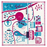 Creative Play Organic Play Mats (City Life magenta/blue)