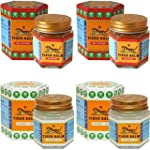 2 Jars of Tiger Balm Red Ointment 30g...