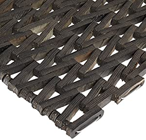 Durable Corporation Rubber Durite 108 Anti-Fatigue Mat, High Traffic and Wet Areas, Herringbone Weave without Nosing, 20