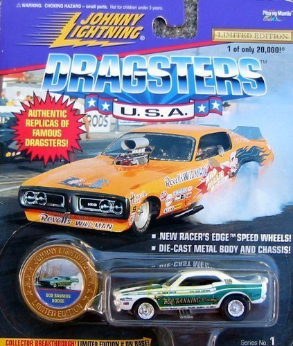 Johnny Lightning Dragsters USA Bob Banning Dodge