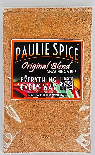 Paulie Spice : Seasoning And Rub For Everything Blend : Amazing On Steak, Ribs, Prime Rib, Wings, Turkey, Chicken, Pork, Fish And Seafood : 8 Oz