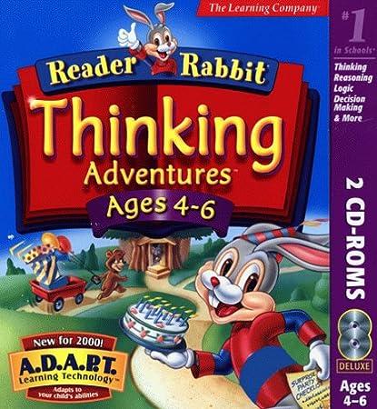 Reader Rabbit Thinking Adventures Ages 4-6