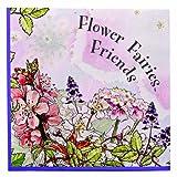 Meri Meri Flower Fairies 5-Inch Small Napkins, 20-Pack