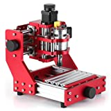 Festnight Mini CNC Router 1310 CNC Metal Engraving Milling Machine Kit PCB Wood Milling Machine Engraver with ER11 Collet (Tamaño: Without)