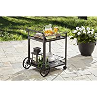 Better Homes and Gardens Colebrook Outdoor Serving Cart (Steel)