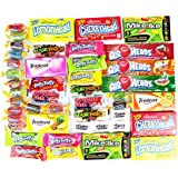 Candyland Variety Pack Candy Mixed Assortment Includes Air Heads, Sour Patch, Laffy Taffy, Jolly Ranchers, Lemon Heads, Swedish Fish, Mike and Ike, Trident Gum & Many More!! Includes Our Exclusive Custom Varietea Mints Bulk Sampler of 45 Packs