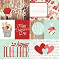 Simple Stories You & Me Elements #1 Valentine Scrapbook Paper