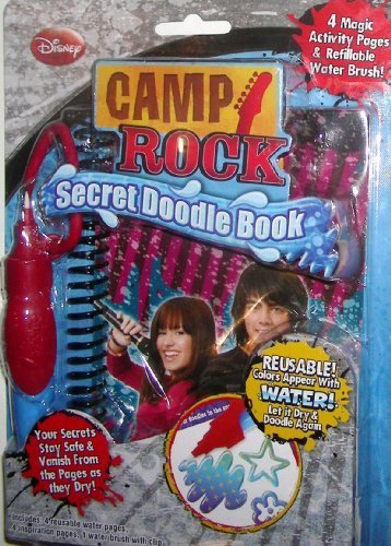 Camp Rock Secret Doodle Book