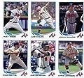 2013 Topps Baseball Cards Update Series- Atlanta Braves Team MLB Trading Set - 9 Cards: US45 Joey Terdoslavich RC US53 Craig Kimbrel AS US87 Evan Gattis RD US140 Justin Upton US173 Reed Johnson US195 Chris Johnson US255 Alex Wood RC US298 Luis Avilan US31