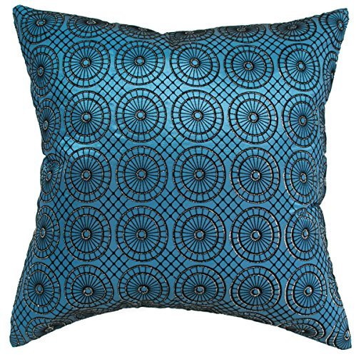 avarada circular twinkle checkered throw pillow cover decorative sofa couch cushion cover. Black Bedroom Furniture Sets. Home Design Ideas