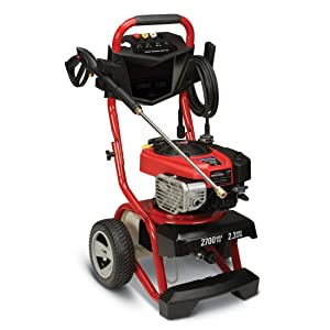 Troy Bilt Gas Pressure Washer 2700 Psi 2.3 GPM Briggs FS20414