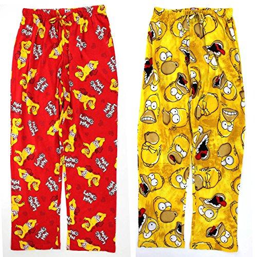 The Simpsons Homer Mens Cotton Pajama Pants