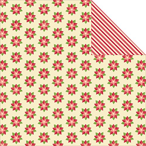 """Holly Berry Borscht Double-Sided Cardstock 12""""X12""""-1 Cup Holly Berries"""