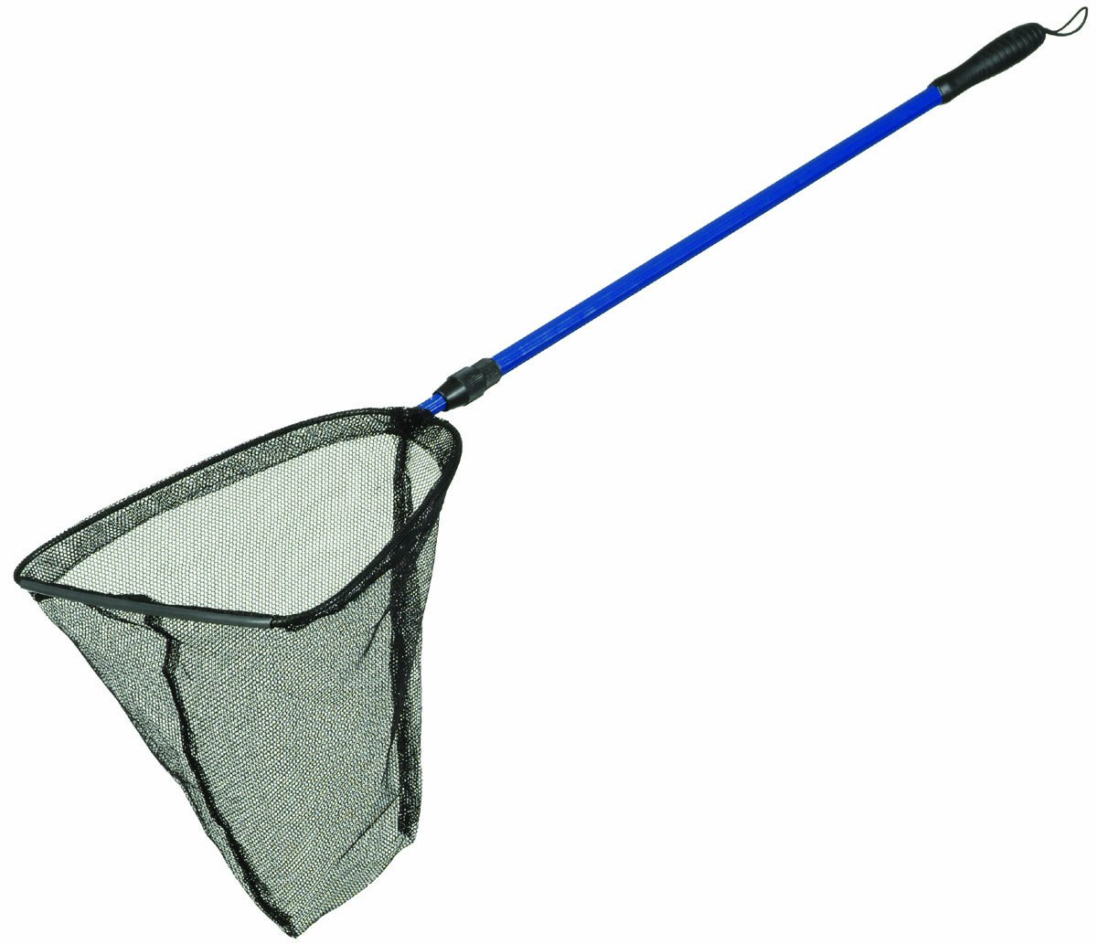 Pond fish net 14 diameter 33 60 telescopic handle for Telescoping fishing net