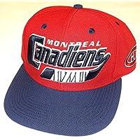 Montreal Canadiens Snap BackFlat Bill  CCM Hat - Osfa - NX08z