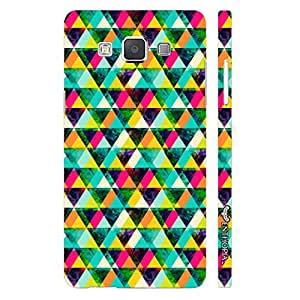 Samsung Galaxy E7 Twisty Tangles designer mobile hard shell case by Enthopia