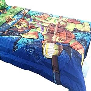Amazon.com: Teenage Mutant Ninja Turtles Twin-Full Bed ...