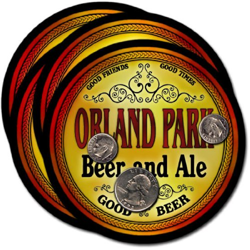 Orland Park Beer & Ale Coasters