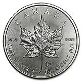 2016年製 メイプル銀貨 1オンス クリアケース入り カナダ王室造幣局発行 31.1gの純銀 高純度 地金型銀貨 メイプルリーフ シルバー コイン ロイヤル・カナディアン・ミント 保証書付き
