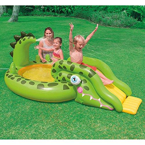 Intex gator inflatable play center 99 x 55 x 34 for for Intex gartenpool