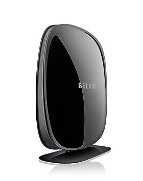 Belkin N600 - routeurs sans fil (WPA2, WPS, IEEE 802.11n, Fast Ethernet, Noir, 802.11b, 802.11g, 802.11n, 10/100Base-T(X))