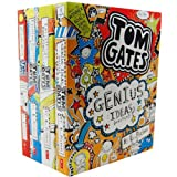 Liz Pichon Liz Pichon's Tom Gates 4 Books Collection Pack Set RRP: £27.96 The Brilliant World of Tom Gates, Excellent Excuses, Everything's Amazing (sort of) , Genius Ideas (Mostly)