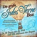 Die große Jules Verne-Box!: Zwei fesselnde Abenteuerromane Hörbuch von Jules Verne Gesprochen von: Bodo Primus, Sven Görtz