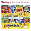 Kellogg's Fun Pack Cereal, 8 Count