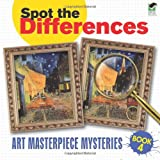 Spot the Differences Book 4: Art Masterpiece Mysteries (Dover Children s Activity Books)