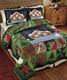 Holiday Bed Collection Full/Queen Sham Valance