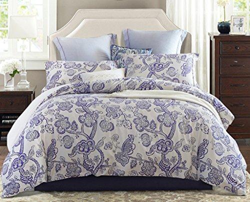Word Of Dream 100 Cotton Floral Duvet Cover Sets 2 Piece