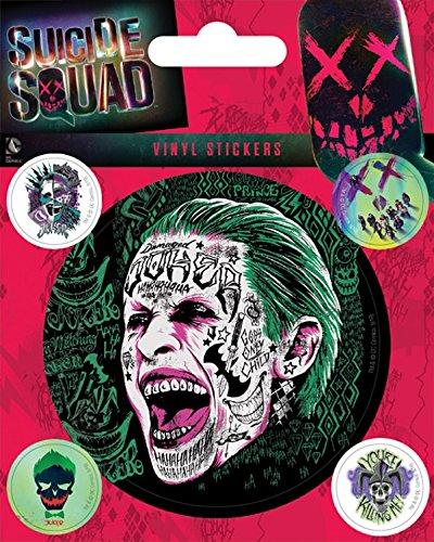 Suicide Squad - The Joker Sticker Adesivo (12 x 10cm)