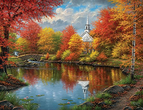 Autumn Tranquility - A 1000 Piece Jigsaw Puzzle By SunsOut