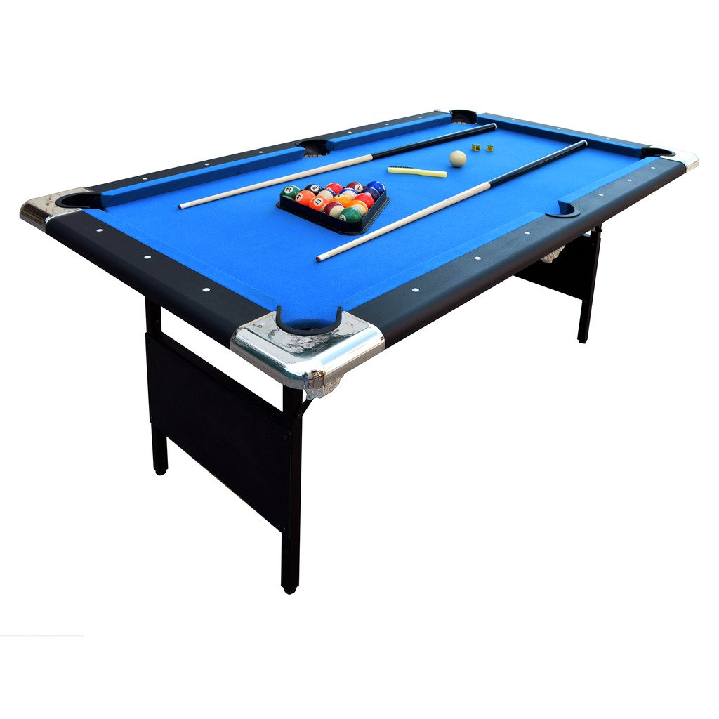 Hathaway Fairmont Foot Portable Pool Table Review - How much room is needed for a pool table