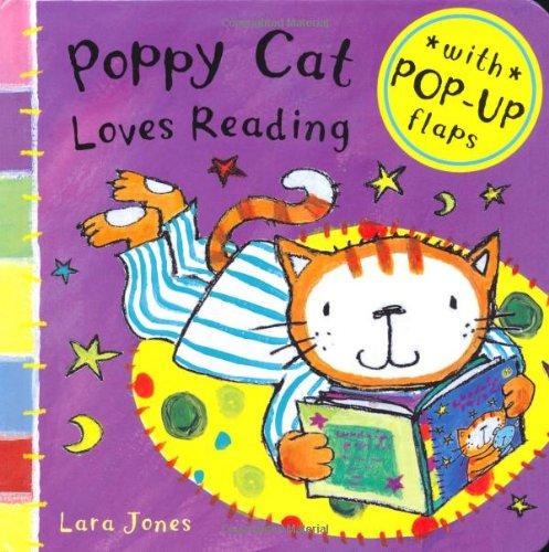 Poppy Cat Loves Reading!