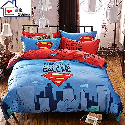 superman bedroom decor