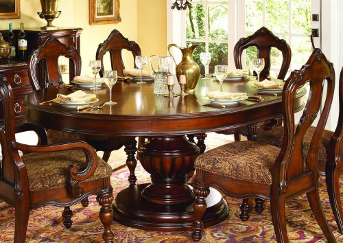 Cheap Prenzo Round Oval Dining Table By Homelegance SHOPPING