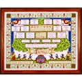 Design Works Kit point de croix Motif arbre g�n�alogique Multicolore