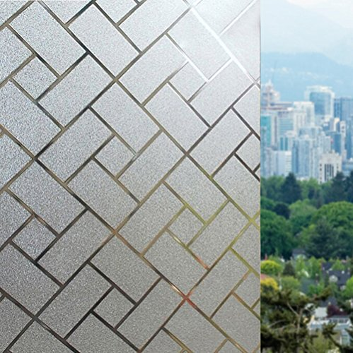 rabbitgoo-pegatina-de-ventanas-autoadhesiva-pegatina-privacidad-efecto-decorativa-para-cristal-elect