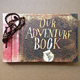 Our Adventure Book,Movie Pixar Up,80 Pages Hand Made Loose...