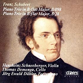 Franz Schubert: Piano Trio in B-flat Major, D898 / Piano Trio in B-flat Major, D28