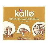 Kallo bouillon de champignons Cubes 66g